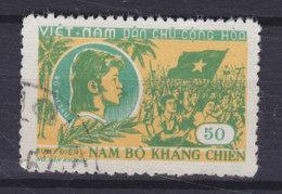Vietnam 1958 Mi. 83    50 D Widerstand In Südvietnam Vo Thi Sáu, Partisanin - Vietnam