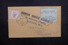 BELGIQUE - Enveloppe De Bruxelles Pour L 'Allemagne Par Poste Privée De Londres En 1971, Voir Vignette - L 40528 - Belgium