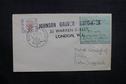 BELGIQUE - Enveloppe De Bruxelles Pour L 'Allemagne Par Poste Privée De Londres En 1971, Voir Vignette - L 40529 - Belgium