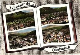 67 .. OBERHASLACH  .. MULTIVUES  .. LIVRE OUVERT .. 1969 - France
