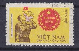 Vietnam Portofreiheitsmarke 1971 Mi. 18    - Für Die Kriegsbe- Und Geschädigten THU'O'NG BINH - Vietnam
