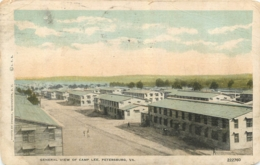 PETERSBURG  GENERAL VIEW OF CAMP LEE - Autres