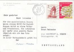 Dear Doctor Biomarine Ou Assimilée - Type Maggi Fridolin - Yougoslavie - Werbepostkarten