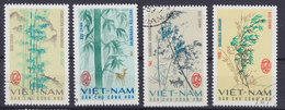 Vietnam 1967 Mi. 469-72 Bambusarten - Vietnam