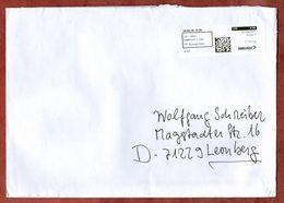 Grossbrief, Label Postage Paid Delemont, Nach Leonberg 2018 (78117) - Schweiz