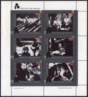 Argentina - 1995 - Centenaire Du Cinéma. - Yvert 1898 / 1903 - Hojas Bloque