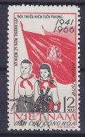 Vietnam 1966 Mi. 445    12 Xu 'Junge Pioniere' Flag Flagge - Vietnam