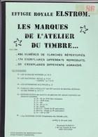 Belgique ELSTROM  Les Marques De L Atelier Du Timbre  Par R Huberty 35 Pages - Manuali