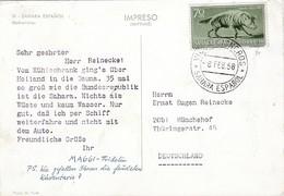 Dear Doctor Biomarine Ou Assimilée - Type Maggi Fridolin - Sahara Espagnol - Werbepostkarten