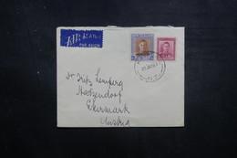 NOUVELLE ZÉLANDE - Enveloppe Pour L 'Autriche En 1948, Affranchissement Plaisant - L 40537 - Briefe U. Dokumente