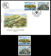 Serbia 2019. European Nature Protection, Special Nature Reserve Rtanj, Monument Of Nature,FDC+ Set, MNH - Vegetables