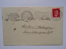 """1944 DR Brief Berlin Freistempel """"Verpackt Feldpostpäckchen Gut Und Dauerhaft"""" - Germany"""