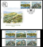 Serbia 2019. European Nature Protection, Special Nature Reserve Rtanj, Monument Of Nature,FDC+ Middle Row, MNH - Vegetables