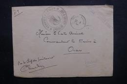 FRANCE - Devant D'enveloppe Du Croiseur Jeanne D'Arc En 1944 Pour Oran - L 40538 - Seepost