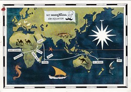Dear Doctor Biomarine Ou Assimilée - Type Maggi Fridolin - Guinée Espagnole (map) - Werbepostkarten