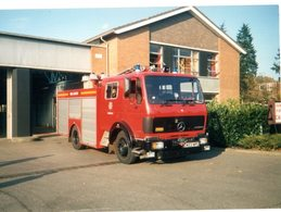 35mm ORIGINAL PHOTO UK FIRE & RESCUE - F128 - Photographs