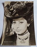 Portrait SOPHIA LOREN # Alte Progress-Star-Foto-AK, Ca. 10,5 X 15 Cm # [19-68] - Schauspieler
