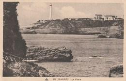 Carte Postale Ancienne - Biarritz - Le Phare - Barche