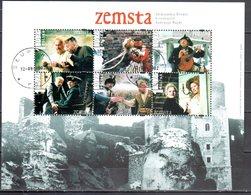Poland 2002 - Zemsta - Mi. M/s153  - Used Gestempelt - Blocchi E Foglietti