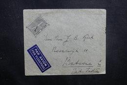 BELGIQUE - Enveloppe De Anvers Pour Batavia En 1936 Par Avion, Affranchissement Plaisant Au Verso - L 40556 - Cartas