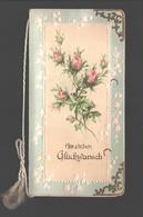 Fantaisie / Fantasy / Fantasie - Double Card - Herzlichen Glückwunsch - 1905 - Embossed / Relief / Reliëf - Hochzeiten
