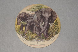 La Vache Qui Rit Belgish Congo Belge N° 4 Eléphant Oliphant - Trade Cards