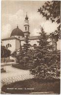 W4344 Asiago (Vicenza) - Piazza Carli - Il Duomo / Viaggiata 1953 - Italia