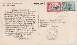 Dear Doctor Biomarine Ou Assimilée - Type Amora - Dans Le Sillage De Bougainville - Salomon Islands Iles - Werbepostkarten