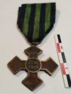 Roumanie Croix De Guerre 1916-1918 - Medaglie