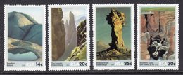 SOUTH AFRICA - 1986 ROCK FORMATIONS SET (4V) FINE MOUNTED MINT MM * SG 608-611 - South Africa (1961-...)