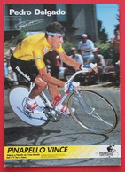Cyclisme : Tour De France  Pedro Delgado Maillot Jaune - Cyclisme