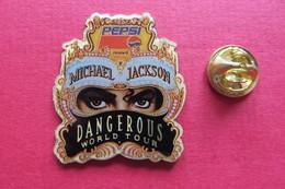 Pin's,Musique,MICHAEL JACKSON,DANGEROUS WORLD TOUR, PEPSI - Music