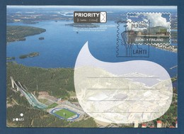Suomi / Finland 2010 , Itella Oyj - Ganzsache / Karte PRIORITY - LAPOEX 2010 - Gestempelt / Fine Used / (o) - Finnland