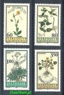 Liechtenstein 1995 Mi 1116-1119 MNH ( ZE1 LCH1116-1119 ) - Plants