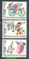 Liechtenstein 1996 Mi 1129-1131 MNH ( ZE1 LCH1129-1131 ) - Swimming