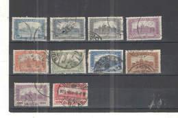 Ungheria PO 1920/24 Parlamento Scott.364+365+367+368+369+371+372+373+376+377+See Scan On Album Page; - Ungheria