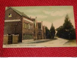 LEOPOLDSBURG  - BOURG-LEOPOLD  -  Kamp Van Beverloo  -  Vue Sur La Route D'Heppen   -  1909 - Leopoldsburg (Camp De Beverloo)