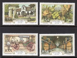 SOUTH AFRICA - 1987 PAARL ANNIVERSARY SET (4V) FINE MOUNTED MINT MM * SG 620-623 - South Africa (1961-...)