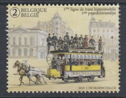 4.- BELGIE BELGIQUE BELGIUM 2019 150th ANNIVERSARY OF HORSE TRAMWAY - Tranvie