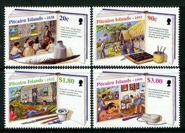 Pitcairn Islands 1999 Development Of Local Education Set VLHM (SG 544-547) - Briefmarken