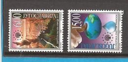 1999  2912-13  PROTECTION NATURA NATURSCHUTZ    IN SERBIEN JUGOSLAVIJA JUGOSLAWIEN  MNH - Protezione Dell'Ambiente & Clima