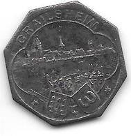 *notgeld Crailsheim 10 Pfennig  1918  2589.2a Fe /F83.5c - [ 2] 1871-1918 : Imperio Alemán