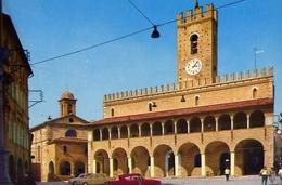 Offida - Piazza Vitt.emanuele - Palazzo Municipale - Formato Grande Non Viaggiata – E 13 - Ascoli Piceno