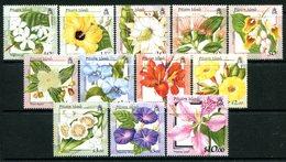 Pitcairn Islands 2000 Flowers Set LHM (SG 564-575) - Briefmarken
