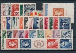 DA-77: FRANCE: Lot Avec Année 1949** - 1940-1949