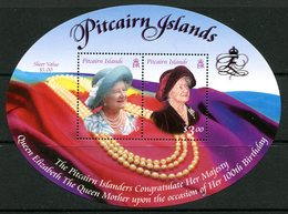 Pitcairn Islands 2000 Queen Elizabeth The Queen Mother's 100th Birthday MS HM (SG MS582) - Briefmarken