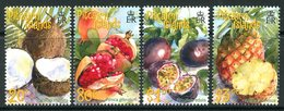 Pitcairn Islands 2001 Tropical Fruits Set LHM (SG 591-594) - Stamps