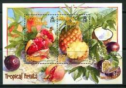 Pitcairn Islands 2001 Tropical Fruits MS LHM (SG MS595) - Stamps