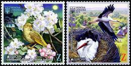 2019 Ukraine, Europa, CEPT, National Birds, 2 Stamps, MNH - 2019