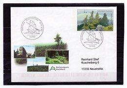 BRD, 2002, Ganzsache Mit Michel 2268, Echt Gelaufen, Sonderstempel, NP Hochharz - Covers - Used